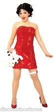 OFFICIALLY LICENSED BETTY BOOP HALLOWEEN COSTUME ADULT SIZE SMALL