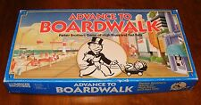 ADVANCE TO BOARDWALK Game By Parker Brothers 1985 (COMPLETE)