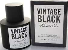 VINTAGE BLACK BY KENNETH COLE 3.4/3.3 OZ EDT SPRAY FOR MEN