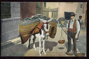 Gibraltar Charcoal Hawker City Mill Lane early PPC