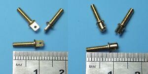2mm M2.0 Miniature Brass Clevis Model Boat Upgrade x10