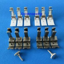 "12 PIPING FEET FOOT SET 1/8"" 3/16"" 1/4"" for SINGER 191D 195K HIGH SHANK INDUSTRI"