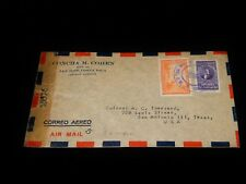 Vintage Cover, SAN JOSE, COSTA RICA,CENSOR,1944, Multi-Stamped To San Antonio,TX