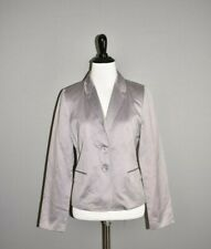 J.CREW NEW $128 Gray Soirée Sateen Structured Blazer Size 2