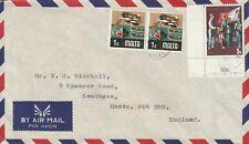 1979 Malta cover sent to Southsea Hants