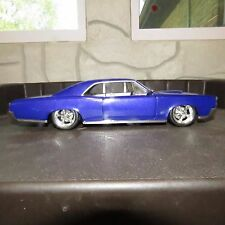 Hot Wheels 1966 Pontiac GTO 1:18 Scale Die Cast Model Purple