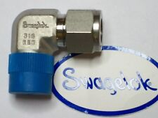 "1 - Swagelok Elbow Connector Fitting, 1/2"" OD Tube x 1/2"" Male NPT,  SS-810-2-8"