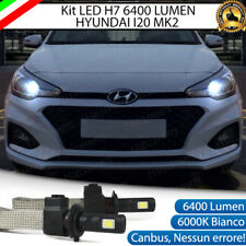 KIT LED H7 HYUNDAI I20 MK2 6000K XENON CORNERING LIGHT PER FARI LENTICOLARI