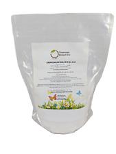 Ammonium Sulfate Fertilizer 21-0-0 Plus 24% Sulfur 100% Water Soluble 5 Pounds