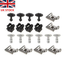 20pcs Undertray Guard Engine Under Cover Fixing Clips Screw For AUDI A4 A6 A8 UK