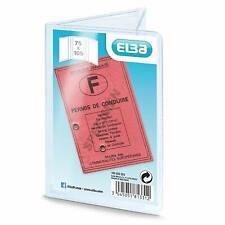 Elba Etui en PVC pour Permis de Conduire - 7.5 x 10.5 x 0.01cm  30/100