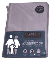 Downland Waterproof Mattress Protector Double
