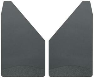 """Husky Liners 17153 Universal Mud Flaps 14"""" Wide - Black Weight"""