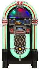 Retro JUKEBOX Turnplayer Color-Changing CD USB AUX MP3 Radio B-tooth Juke box