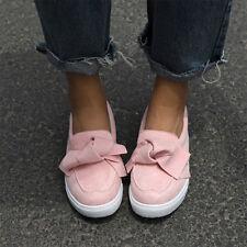 Damen Schuhe Mokassin Ballerinas Flache Slipper Loafer Schlupf Halbschuhe Mode