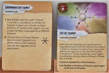 Wizkids D&D Attack Wing Tyranny of Dragons Eye of Tiamat / Eye of Bahamut Card