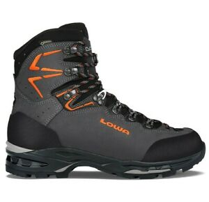LOWA 2106969720 Men's Ticam II GTX Anthracite/Orange Backpacking Boots Shoes