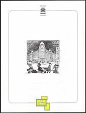Luxembourg 2005 Christmas/Greetings/Shop/Shoppers     BLACK PRINT m/s (lu10156)