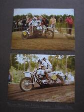 Photo Yamaha EML #H1 v. Heugten / Kiggen Int. Sidecar Cross Lochem (NED) 1980 2x