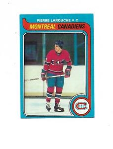 1979-80 Topps #233 Pierre Larouche Montreal Canadiens
