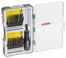 Bosch 2607017320 Bit SCHRAUBENDREHERSET mit Handgriff 37 teilig