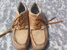 e2509237a3 Perry Ellis Mustard Leather Men s 9 1 2  Women s 11 Hiking Sneaker Shoes  6856