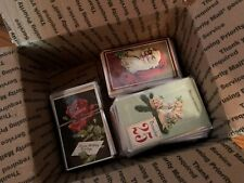 Large Lot of 250 + Antique 1900's Holidays & Greetings Postcards- In Sleeves