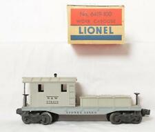 Lionel Postwar 6419-100 N&W Work Caboose with Original Box and Insert Lot 819