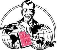 """Wunderkarten - Janos Bartls Original Trick-Kartenspiel """"Round the World""""   20444"""