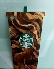 Starbucks  THAILAND Card Ice Coffee Die Cut 2017