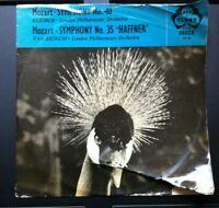 Mozart Symphony Nr 40. And Nr 35. The Haffner. Vinyl Album LP. Decca.