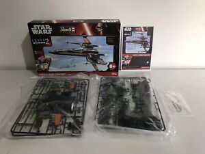 revell star wars poes x wing fighter model kit - never used