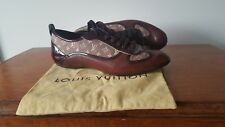 Louis Vuitton Flat Shoes Size 4, 37, LV Monogram, Very Good Condition/Dustbag