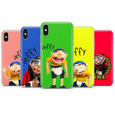 Jeffy gel/plastic phone case cover for iphone