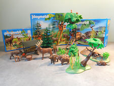 Lot Playmobil Forêt Country Nature - 3227 4208 6817 - Personnage Animaux - 4207