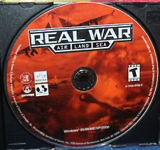 Real War: Air Land Sea PC CD-ROM only in Jewel Case