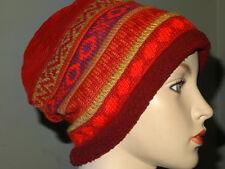 New Fine Alpaca  Wool Hat PERUVIAN -Peru   Women's S/M