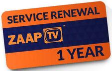 ZaapTV Renewal Code 409N, 509N, 509NII, X, CloodTV, 609N - 1 year maildelivery