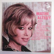 "33 tours Mathe ALTERY Disque Vinyle LP 12"" Chante KALINKA - SONATA - MFP 5078"