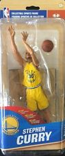 Stephen Curry McFarlane Official NBA Series 28 Sports Action Figure City Yellow