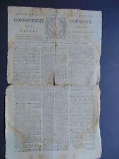 c.1777 - REVOLUTIONARY WAR NEWSPAPER - CONNECTICUT COURANT - FORT TICONDEROGA
