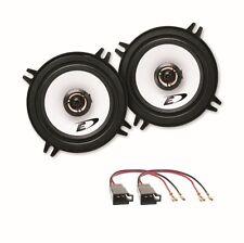 Alpine SXE-1325S 2 Wege Lautsprecher Boxen System Einbauset Golf 1 Cabrio vorne