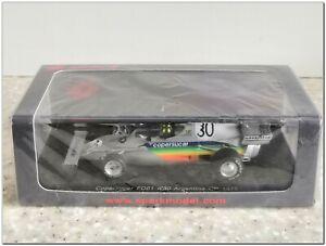 1/43 Copersucar FD01 Argentina GP 1975 W.Fittipaldi #30, Spark S3934