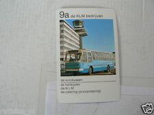 65-KLM AIRPLANE 9A DE AUTOBUSSEN DE KLM BEDRIJVEN