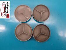 MERCEDES BENZ C240 E300 E320 E430 E55 WHEEL CENTER HUB CAP COVER SET OF 4 OEM