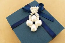 ORIGINAL design UNIQUE Genuine pearl  Cross Pedant Charm
