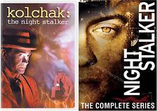 Kolchak The Night Stalker Complete Original TV Series + Reboot NEW DVD SETS