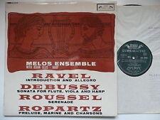 Melos ENSEMBLE & osian Ellis Play Ravel Debussy ROUSSEL l'oiseau LIRA 60048