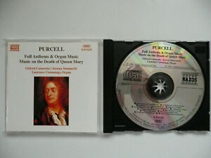 Laurence Cummings plays Purcell Full Anthems & Organ Music Naxos 553129 CD