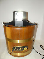 RCW Frost King Ice Cream Freezer Maker 5 Quart Electric #165A